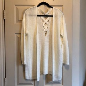 Dreamers Sweaters - Cream cardigan